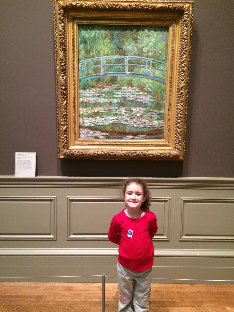 At the Metropolitan Museum of Art